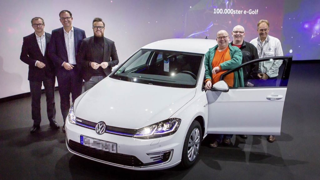 Volkswagen delivers 100,000th e-Golf, paving the way for the ID.3