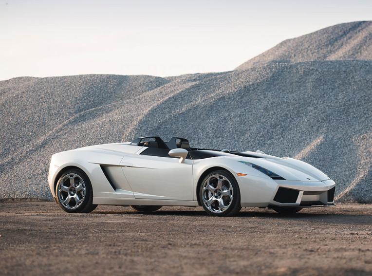 2006 Lamborghini Concept S heads to auction, again