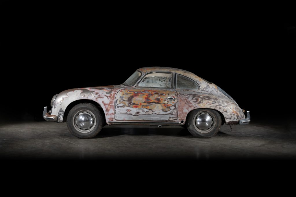 This well-worn Porsche 356A can be yours, cleaned up or not