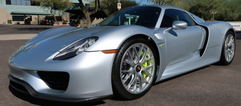 This Porsche 918 may be the only non-sale at Barrett-Jackson Scottsdale 2020