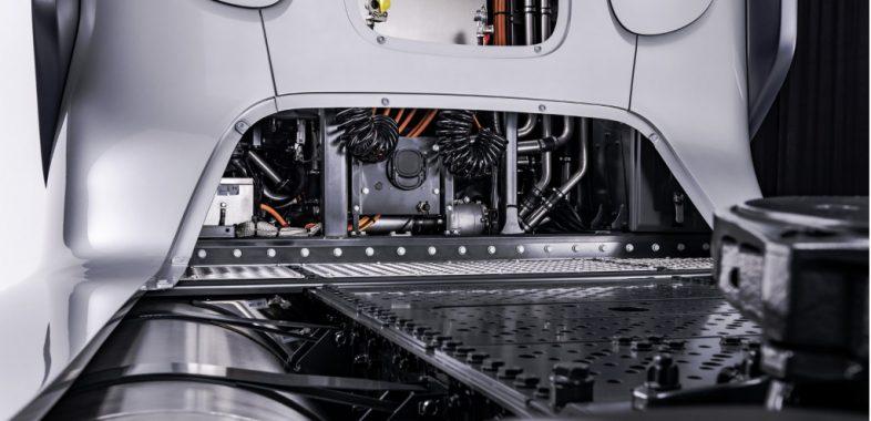 Mercedes-Benz GenH2 Truck concept